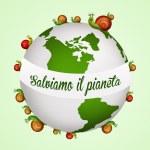 Saving the planet — Stock Photo #60651339