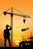 Worker construction — Stock Photo