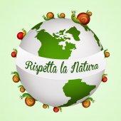 Respects nature — Stockfoto