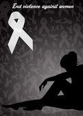 End violence against women — Fotografia Stock