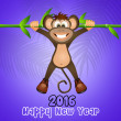 Year of the monkey — Stock Photo #68462733