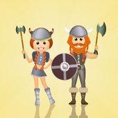 Vikings — Stock Photo