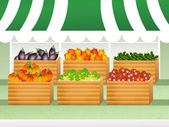 Shop of vegetables — Stock Photo