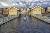 Penath Pier — Stock Photo