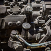 A fragment of the engine — Stock Photo