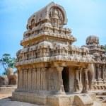 Five rathas complex in Mamallapuram — Stock Photo #68468425