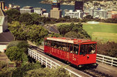 Wellingtons famous cable car — Stock Photo