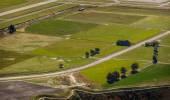Widok na wiejski krajobraz — Zdjęcie stockowe