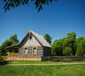 Old traditional wooden house — Stock Photo