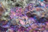 Calcopirite, ha la formula chimica (Cufes2) — Foto Stock
