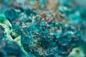 Chrysocolla is a hydrated copper cyclosilicate — Stock Photo