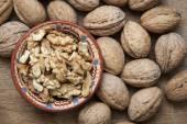 Lot of walnut — Stock Photo
