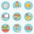 Set of business icons - part 2 — Stock Vector #53162901