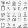 Set of seo and internet service icons - part 7 — Stock Vector #79609340