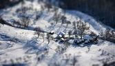 Winter in mountain — Stock Photo