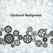 Mechanism background — Stock Vector