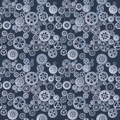 Mechanism seamless background — Stock Vector