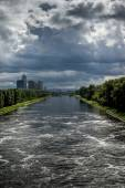 View of the Moscow Canal — Stock Photo