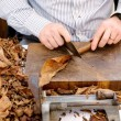 Man making cigars — Stock Photo #57737613