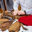 Man making cigars — Stock Photo #57737633
