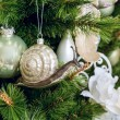 Decorated Christmas tree — Stock Photo #59543829