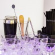Shaker and bar inventory — Stock Photo #69127541