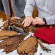 Man making cigars — Stock Photo #72538083