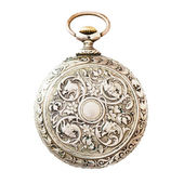 Ancient pocket watch — Stock Photo