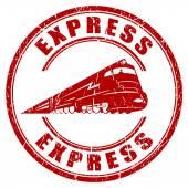 Sello express — Vector de stock