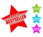 Bestseller icon — Stock Vector