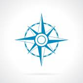 Wind rose icon — Stock Vector