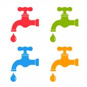 Water tap icon — Stock Vector