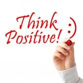 Think positive — Stock Photo