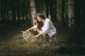Trap for fairies — Stock Photo