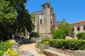 Tomar Templar knights fortress — Stock Photo