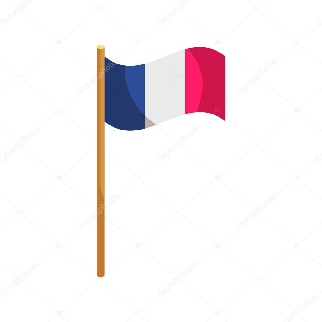 bandera de icono de francia  estilo de dibujos animados vector de stock  u00a9 ylivdesign 114923892 waving flag vector tutorial waving flag vector tutorial