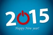 Gott nytt år bokstäver — Stockvektor