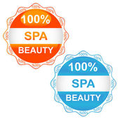 Spa sign icons — Stock Vector