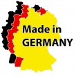 Made in Germany label — Stock Vector #64984977