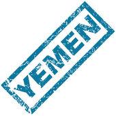 Jemen rubberstempel — Stockvector