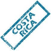 Costa Rica rubber stamp  — 图库矢量图片