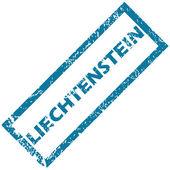 Liechtenstein rubber stamp  — Stockvektor