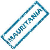 Мавритания штамп — Cтоковый вектор