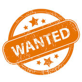 Wanted grunge icon — Stock Vector