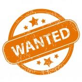 Wanted grunge icon — Wektor stockowy