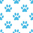Paw seamless pattern — Stock Vector #67425543
