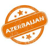 Azerbaijan grunge icon — Stock Vector