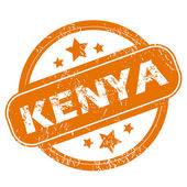 Kenya grunge icon — Stock Vector