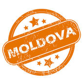 Moldova grunge icon — Vecteur