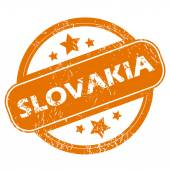 Slovakia grunge icon — Stock vektor
